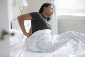 Pain caused by mattress
